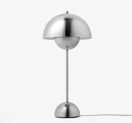 &tradition - Flowerpot Table Lamp Stainless VP3