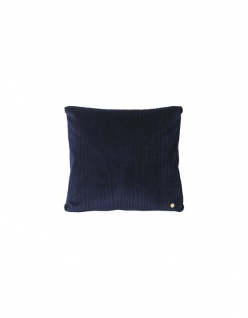 Ferm Living - Corduroy Cushion Navy