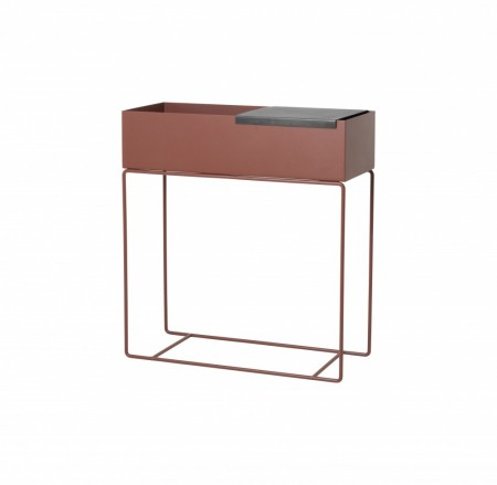 Ferm Living - Plant Box - Red Brown
