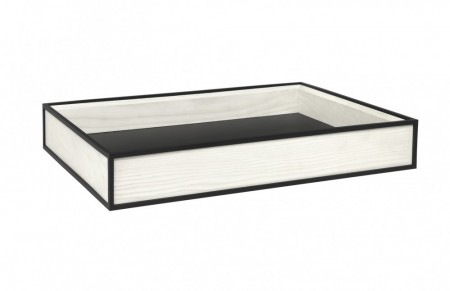 By Lassen - Frame Tray / White Stained Ash