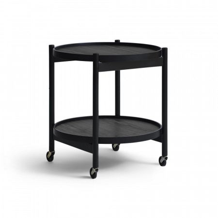Brdr. Krüger - Tray Table - 50cm - Black Painted Beech
