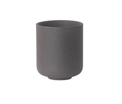Ferm Living -  Sekki Cup / Charcoal / Small