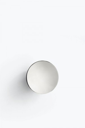 New Works - Aura Wall Mirror Silver / S