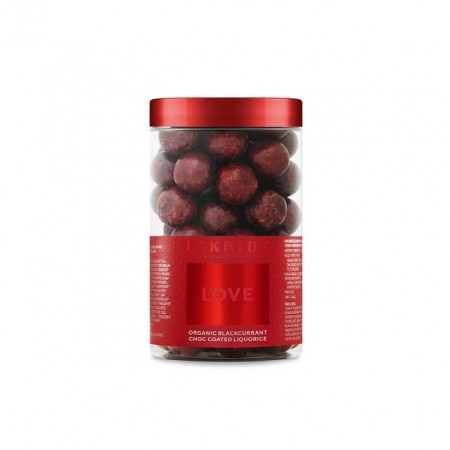 Lakrids By Johan Bulow - Love Organic Blackcurrant Choc