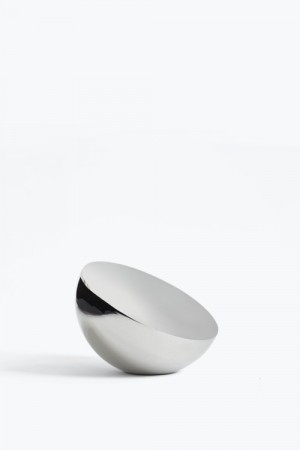 New Works - Aura Table Mirror / Silver