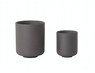 Ferm Living - Sekki Cup / Charcoal / Large