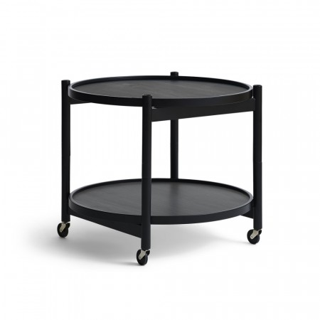 Brdr. Krüger - Tray Table - 60cm - Black Painted Beech