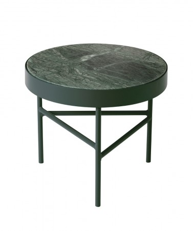 Ferm Living - Marble Table / Indian Green / S