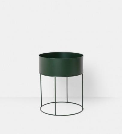 Ferm Living - Plant Box - Grønn - Round a502501ac644f