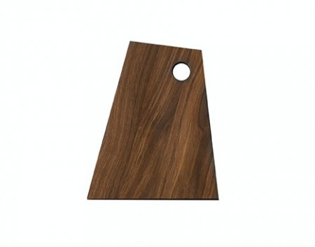 Ferm Living - Asymmetric Cutting Board / Smoked / S
