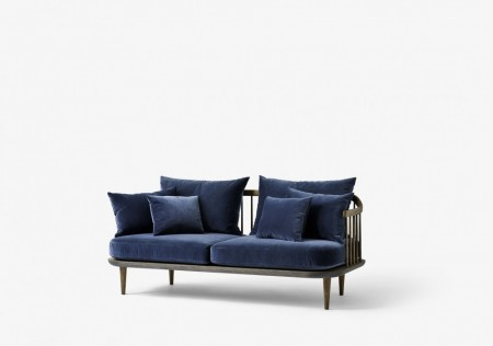 &tradition - Fly Sofa / Sc2 Blue Velvet