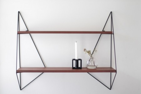Serax - Butterfly Shelf Single / Brown Wood