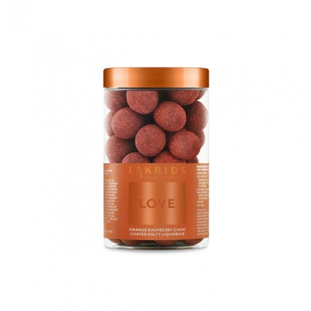Lakrids By Johan Bulow - Love Orange Raspberry Choc